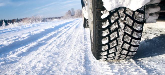 zimné pneumatiky na snehu