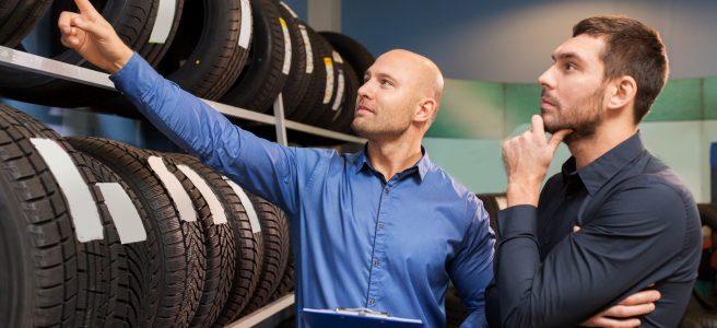 predajňa pneumatík